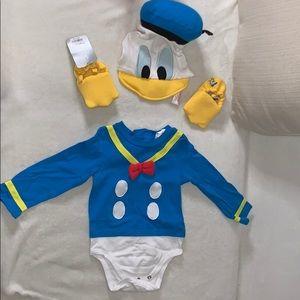 Donald Duck baby costume